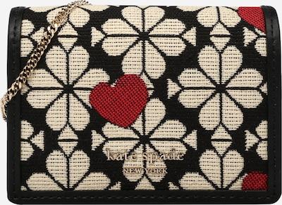 Delninė 'SPADE FLOWER' iš Kate Spade, spalva – smėlio spalva / raudona / juoda, Prekių apžvalga