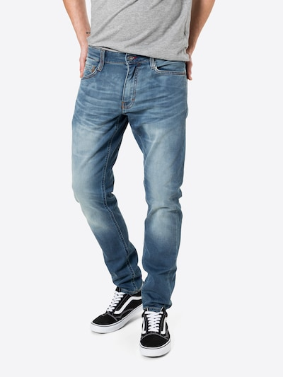 MUSTANG Jeans 'Oregon Tapered K' in blue denim, Modelansicht