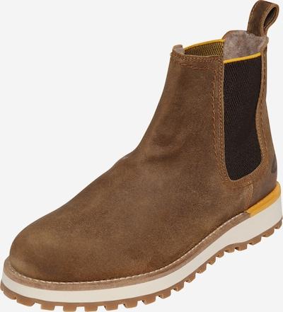 CAMEL ACTIVE Chelsea Boot 'Pilgrim' in braun / gelb / schwarz, Produktansicht