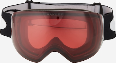 OAKLEY Sporta brilles 'Flight Deck Prizm Torch Iridium' oranžsarkans / melns / balts, Preces skats