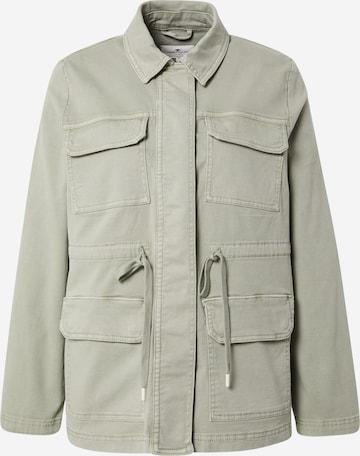 TOM TAILOR Between-Season Jacket in Green