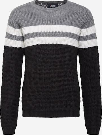 Denim Project Sweter w kolorze czarny
