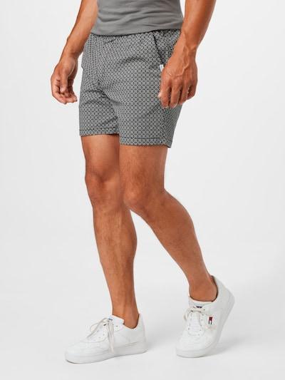 Pantaloni JACK & JONES di colore nero / bianco, Visualizzazione modelli