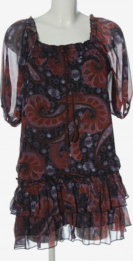 Jennyfer Kurzarmkleid in M in braun / lila / schwarz, Produktansicht