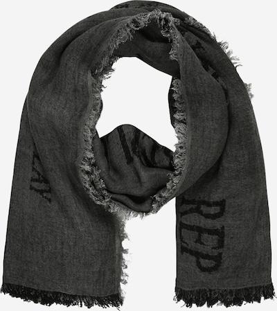 REPLAY Écharpe 'Sciarpa' en noir, Vue avec produit