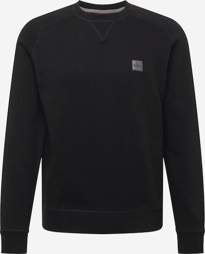 BOSS Casual Sweatshirt 'Westart 1' in schwarz, Produktansicht