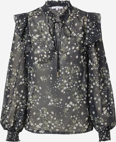 PATRIZIA PEPE Bluse 'CAMICIA' in oliv / schwarz / weiß, Produktansicht