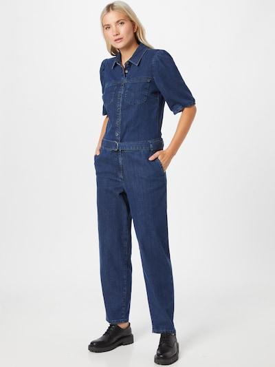 PULZ Jeans Jumpsuit 'Cassi' in Blue denim, View model