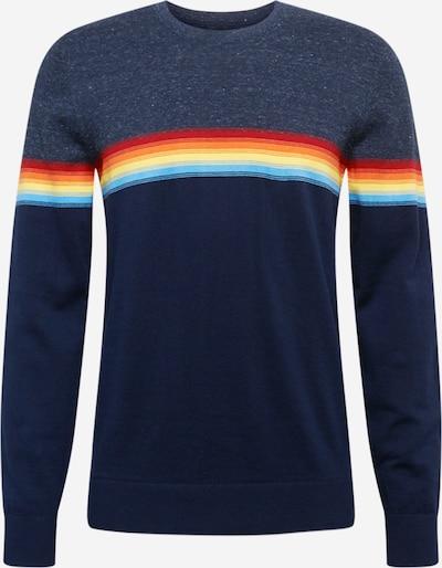 GAP Sweter w kolorze turkusowy / ciemny niebieski / pastelowo-żółty / pomarańczowy / czerwonym, Podgląd produktu