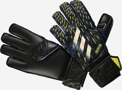 ADIDAS PERFORMANCE Спортни ръкавици 'Predator' в синьо / неоново зелено / черно / бяло, Преглед на продукта