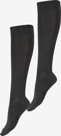 ELBEO Chaussettes montantes ' 2er-Pack Fresh Komfort ' en gris foncé, Vue avec produit