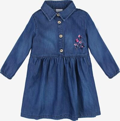 Stummer Kleid in dunkelblau / mischfarben, Produktansicht