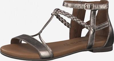 TAMARIS Sandales à lanières 'Kim' en bronze, Vue avec produit