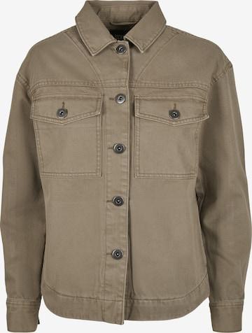 Urban Classics Between-Season Jacket in Green