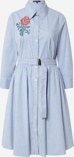 APART Jurk in de kleur Blauw / Wit, Productweergave