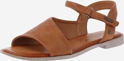 MUSTANG Sandale in cognac, Produktansicht