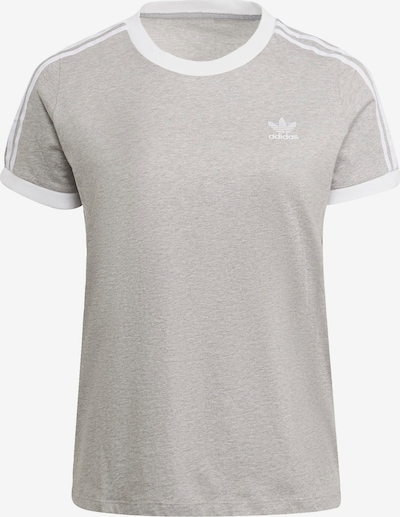 ADIDAS ORIGINALS Shirt in mottled grey / White, Item view