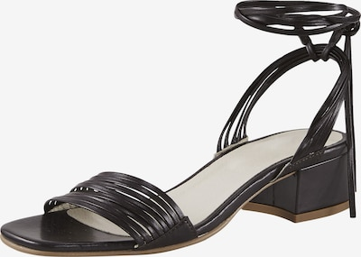heine Sandale in dunkelbraun, Produktansicht