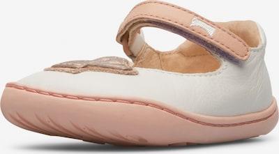 CAMPER Ballerina ' Twins ' in pastellpink / weiß, Produktansicht
