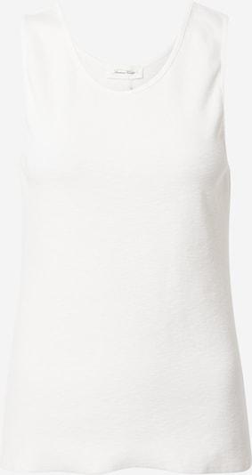 AMERICAN VINTAGE Haut 'SONICAKE' en blanc, Vue avec produit