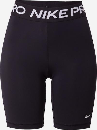 NIKE Sporthose en schwarz / weiß, Vue avec produit