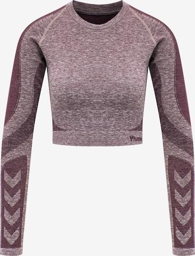 Hummel Functioneel shirt in de kleur Beige gemêleerd, Productweergave