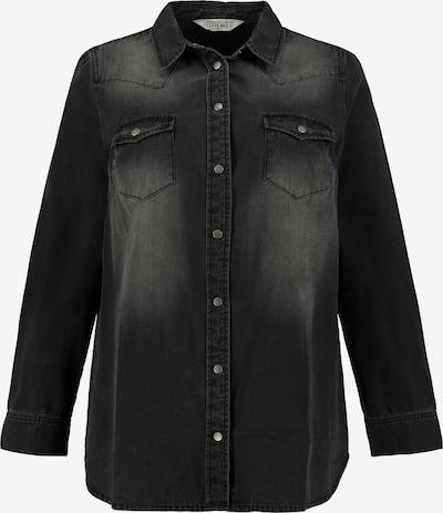 Studio Untold Blouse in de kleur Black denim, Productweergave