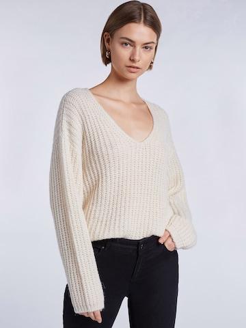 SET Pullover in Weiß