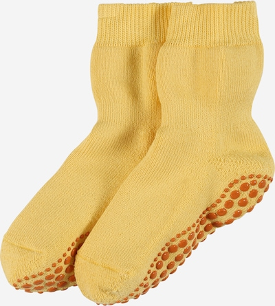 FALKE Socken 'Catspads' in gelb / honig, Produktansicht