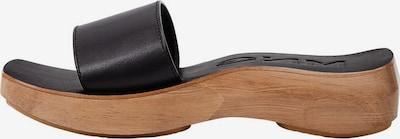 MANGO Mules 'Woody' in Brown / Black, Item view