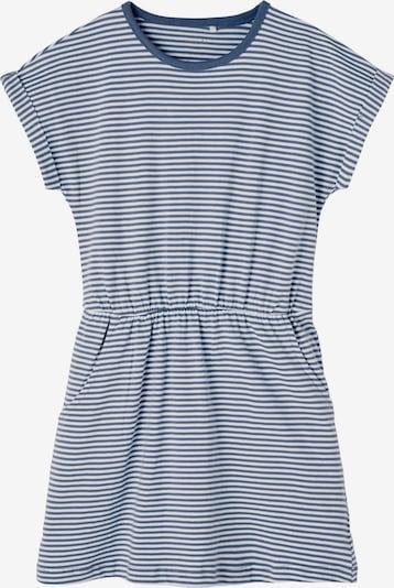 NAME IT Kleid 'VINANNA' in saphir / weiß, Produktansicht