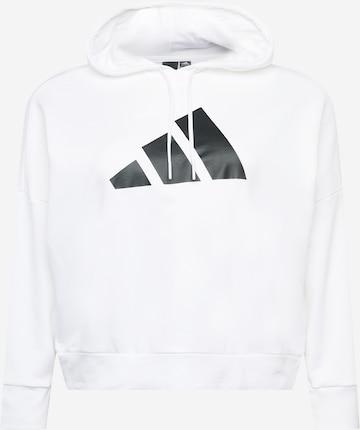 ADIDAS PERFORMANCE Sportsweatshirt i hvit