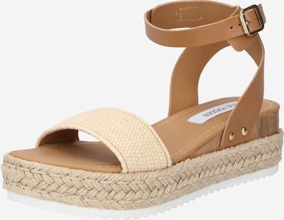 STEVE MADDEN Sandalen met riem 'Chaser' in de kleur Crème / Bruin, Productweergave