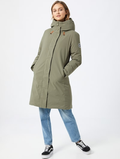 SAVE THE DUCK Jacke 'Smegy' in oliv: Frontalansicht