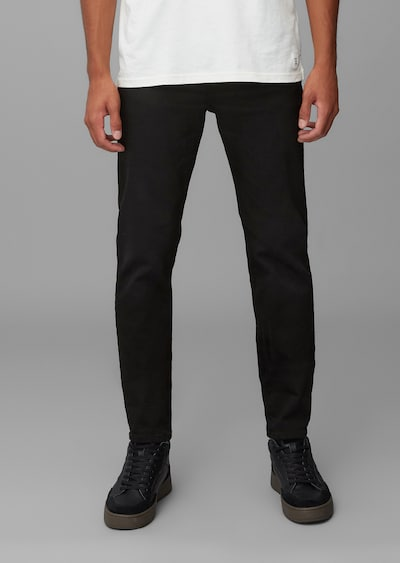 Marc O'Polo DENIM Jeans 'Linus' in de kleur Zwart, Modelweergave