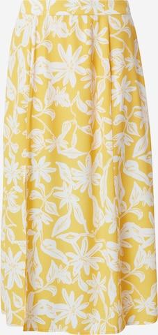 Guido Maria Kretschmer Collection Skjørt 'Liz' i gul