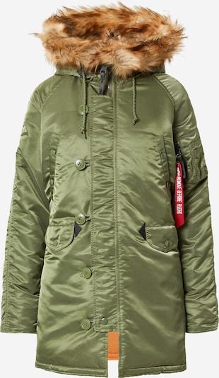 ALPHA INDUSTRIES Winterjacke in khaki, Produktansicht