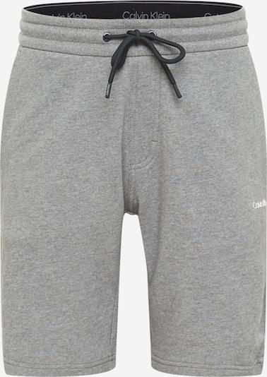 Calvin Klein Broek in de kleur Grijs gemêleerd / Wit, Productweergave