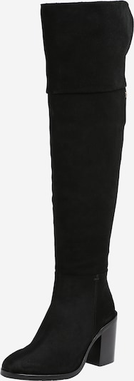 Cizme peste genunchi TOMMY HILFIGER pe negru, Vizualizare produs
