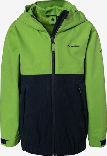 VAUDE Jacke in grün / schwarz, Produktansicht