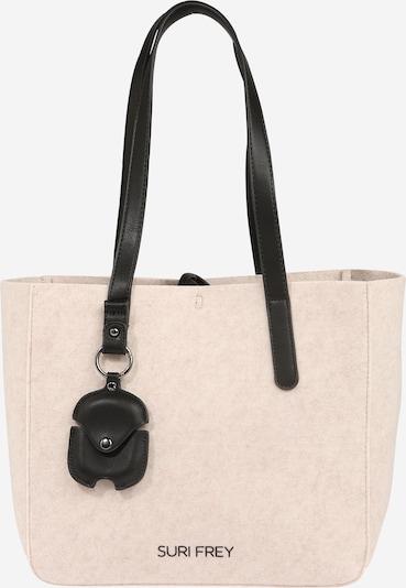 Suri Frey Shopper 'Kristy' en crema / negro, Vista del producto