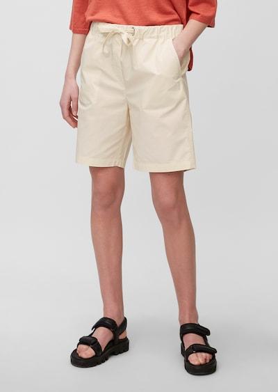 Marc O'Polo Pantalon en crème, Vue avec modèle