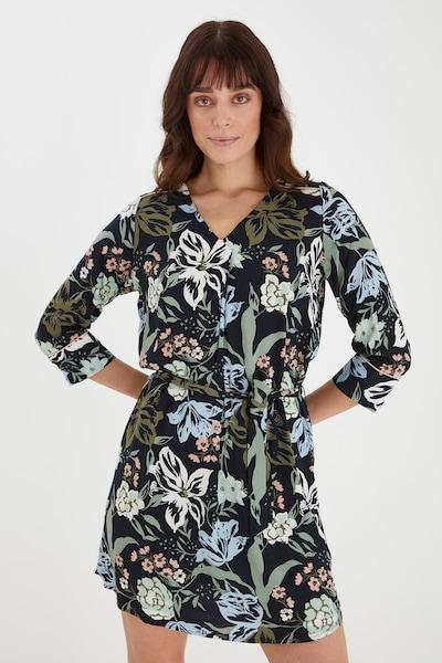 Fransa Freizeitkleid mit floralem Print in mischfarben, Modelansicht