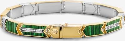 Ti Sento Milano Armband in gold / grün / silber, Produktansicht