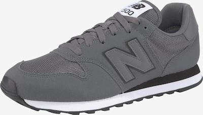 new balance Sneaker in dunkelgrau / schwarz: Frontalansicht