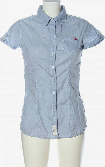 Eight2Nine Kurzarmhemd in M in blau / weiß, Produktansicht