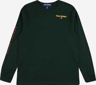 Tricou POLO RALPH LAUREN pe verde închis, Vizualizare produs