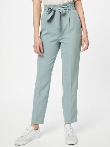 VILA Voltidega püksid 'HERI', värv roheline
