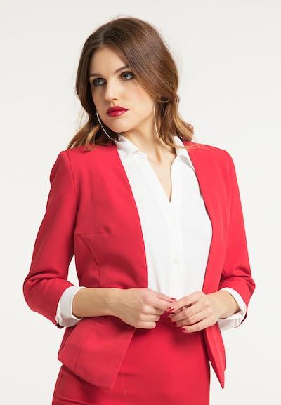 faina Blazer in rot, Modelansicht