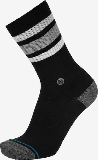 Stance Sportsocken in himmelblau / grau / schwarz / weiß, Produktansicht